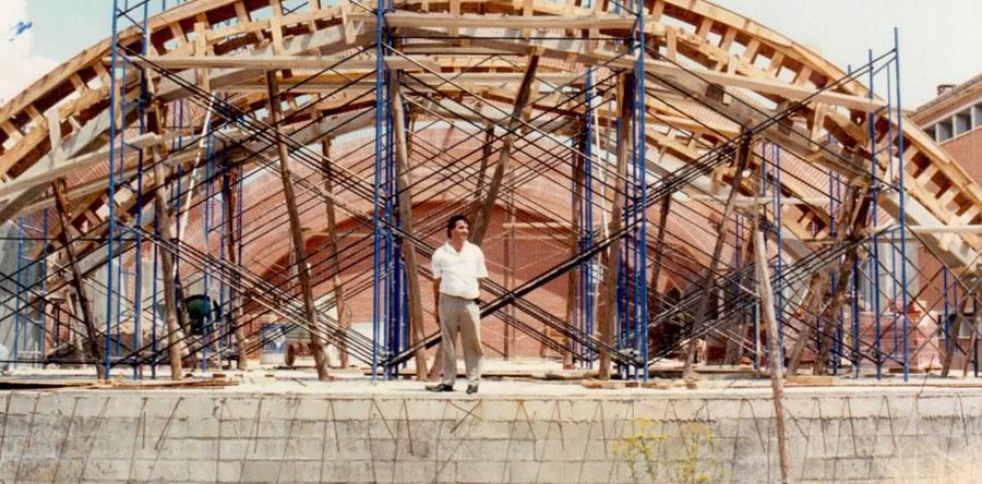 Construction en 1989