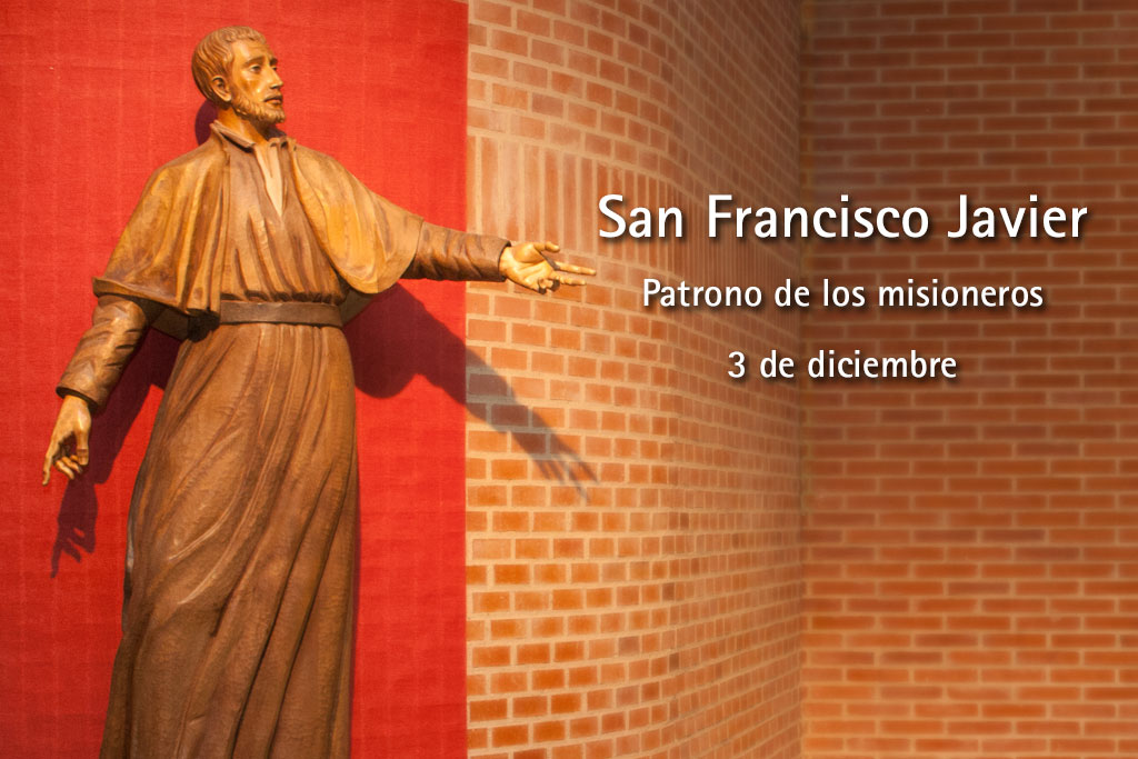 Patrono San Francisco Javier