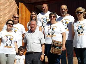 Visita del grupo misionero Ardaria