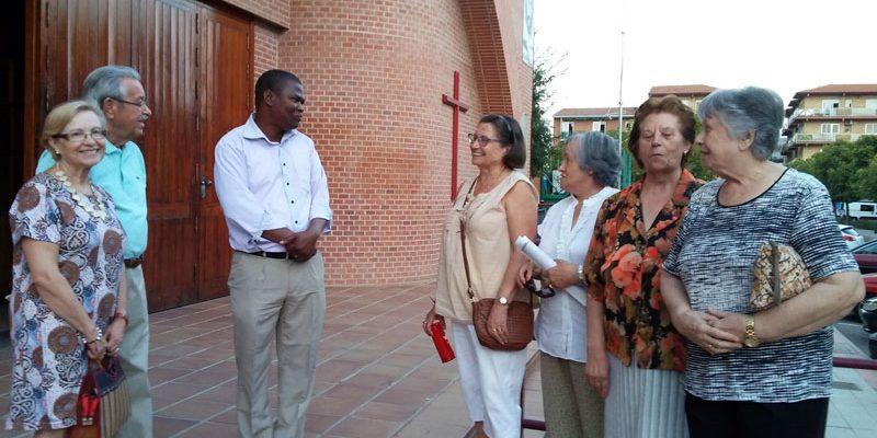 Visita de D. Jorge Pinho