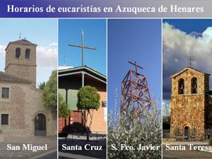 Horarios de Eucaristía en Azuqueca